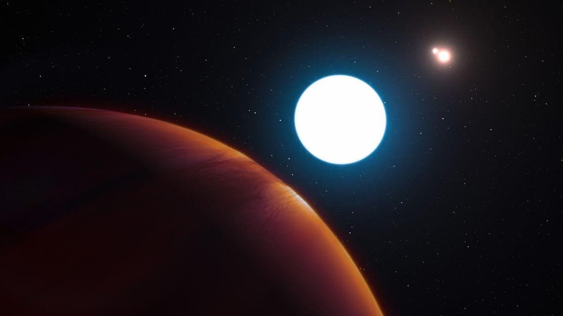 A new planet, HD 131399Ab, in a triple star system was recently discovered about 340 light-years from Earth in the constellation of Centaurus. (AFP)