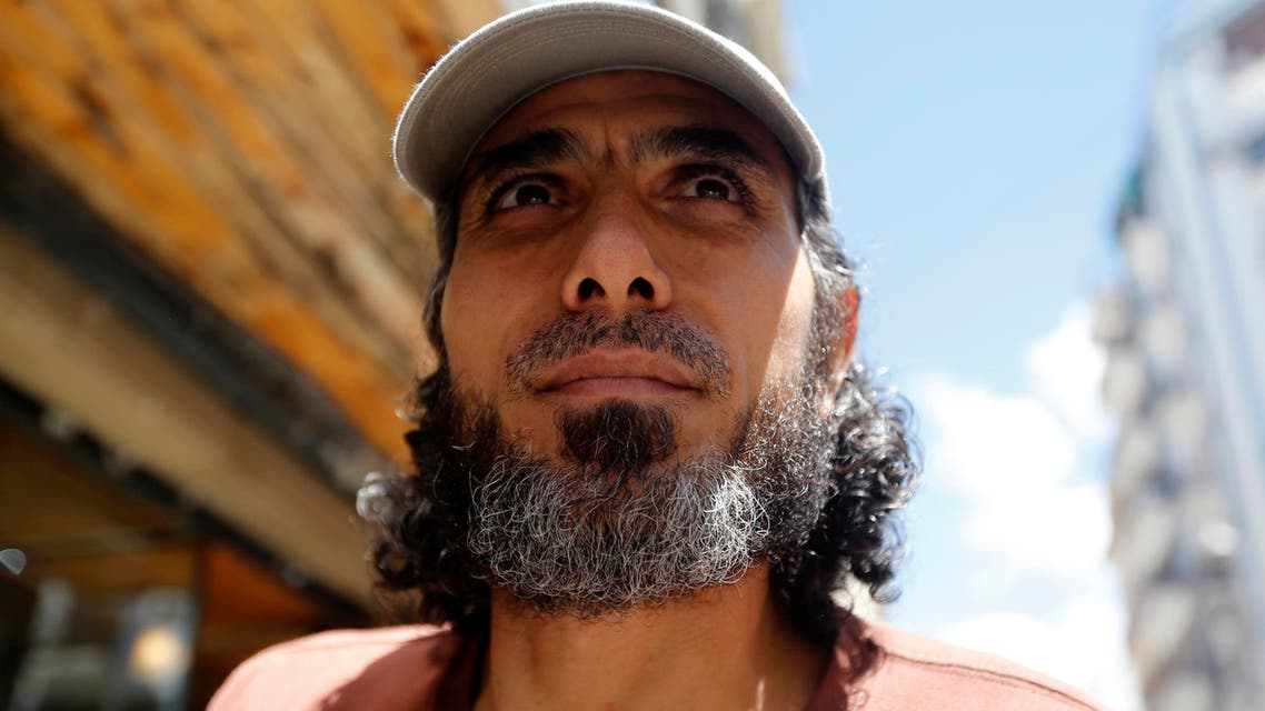 Former Guantanamo Bay prisoner Jihad Ahmad Diyab, looks on as he arrives for an interview in Buenos Aires February 13, 2015. (Reuters)