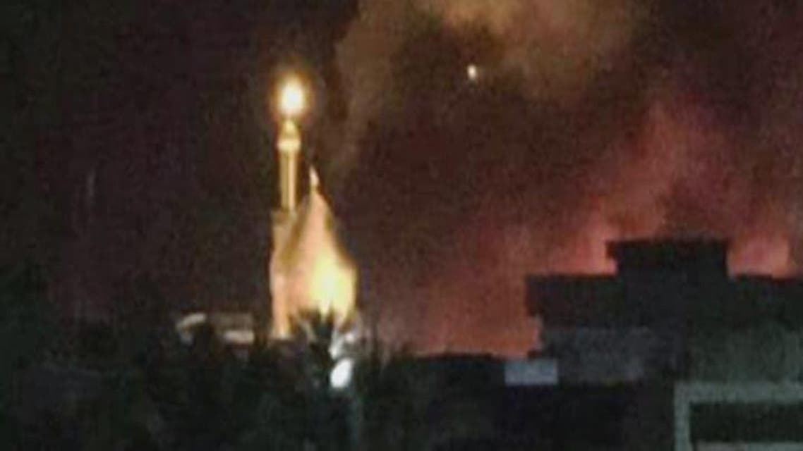 THUMBNAIL_ داعش يشن هجمات على مسجد في قضاء بلد شمال بغداد