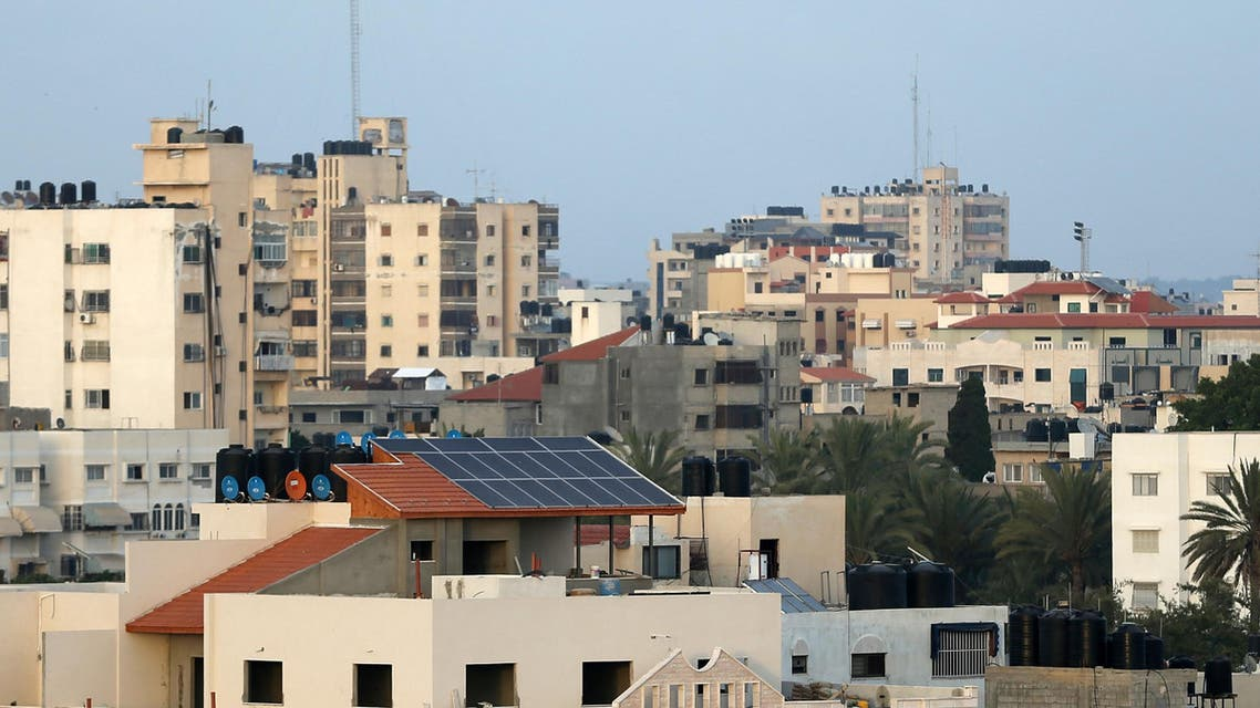 A growing number of Gazans fed up with their erratic electricity supply are turning to solar power in an area where the sun shines for the vast majority of the year. (AFP)