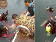 سعودي وجدوه غريقا عند عمق 30 مترا في بحيرة بماليزيا