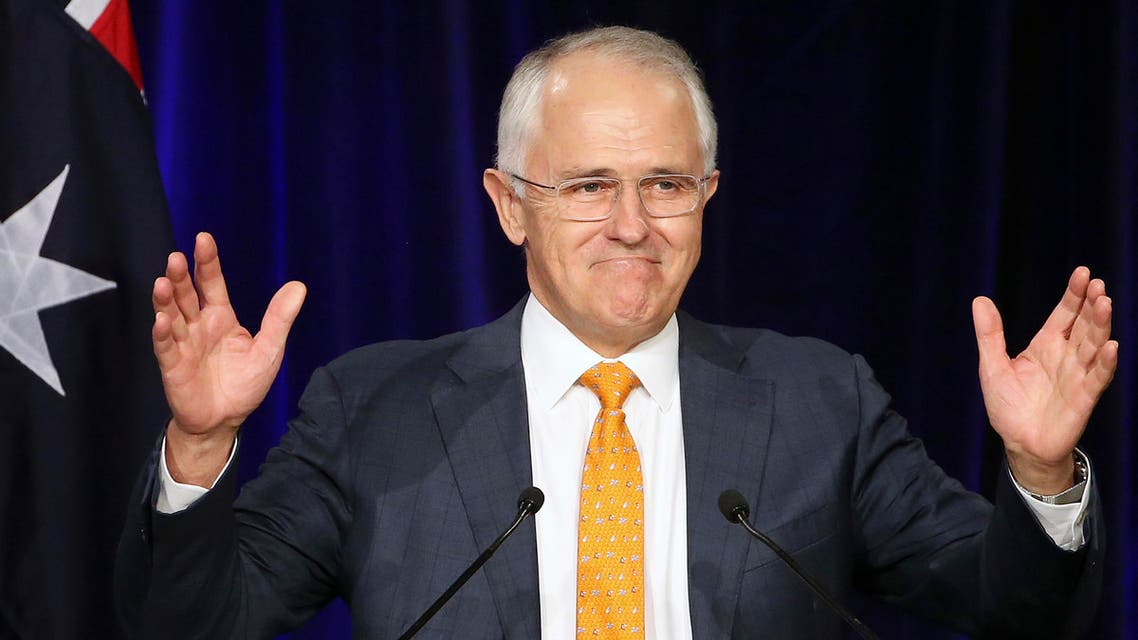Turnbull's gamble in calling an election backfired badly with a swing to the center-left Labor opposition and a rise in the popularity of minor parties and independents. (AP)
