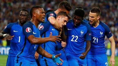 ثنائية غريزمان تقود فرنسا إلى نهائي كأس أوروبا