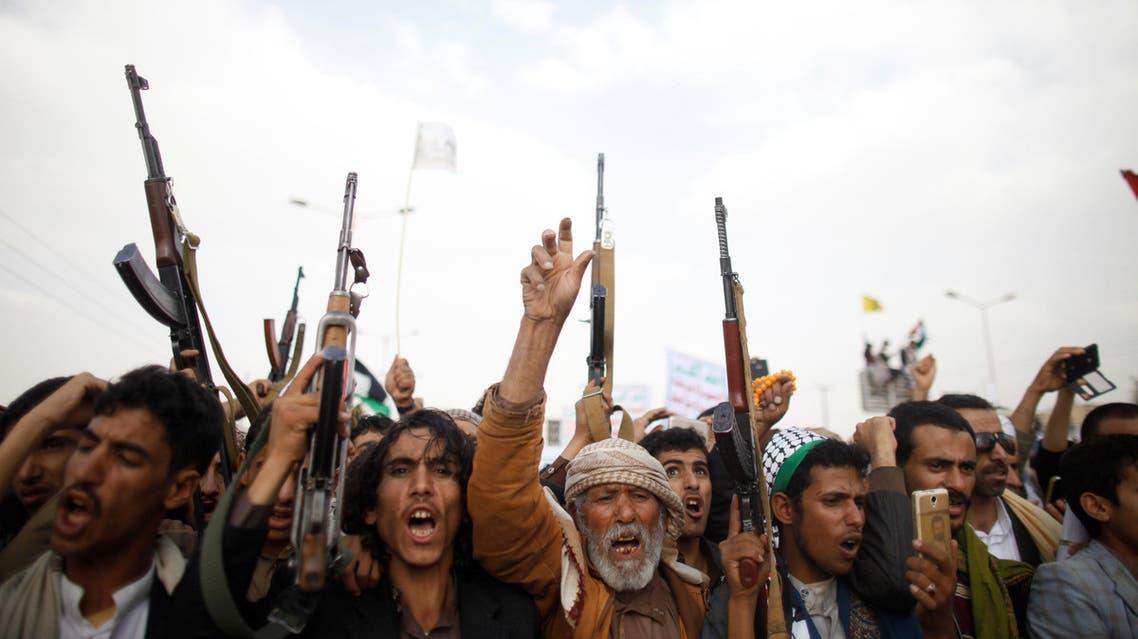 عناصر من الحوثيين 3