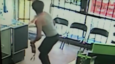 California man's attempted kidnap of girl caught on camera