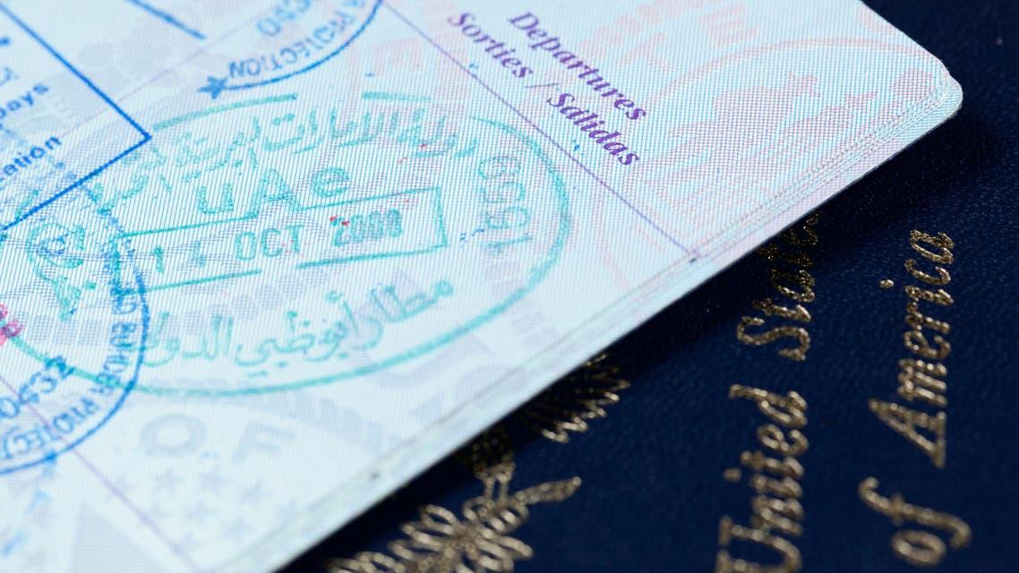 UAE passport US visa travel Shutterstock