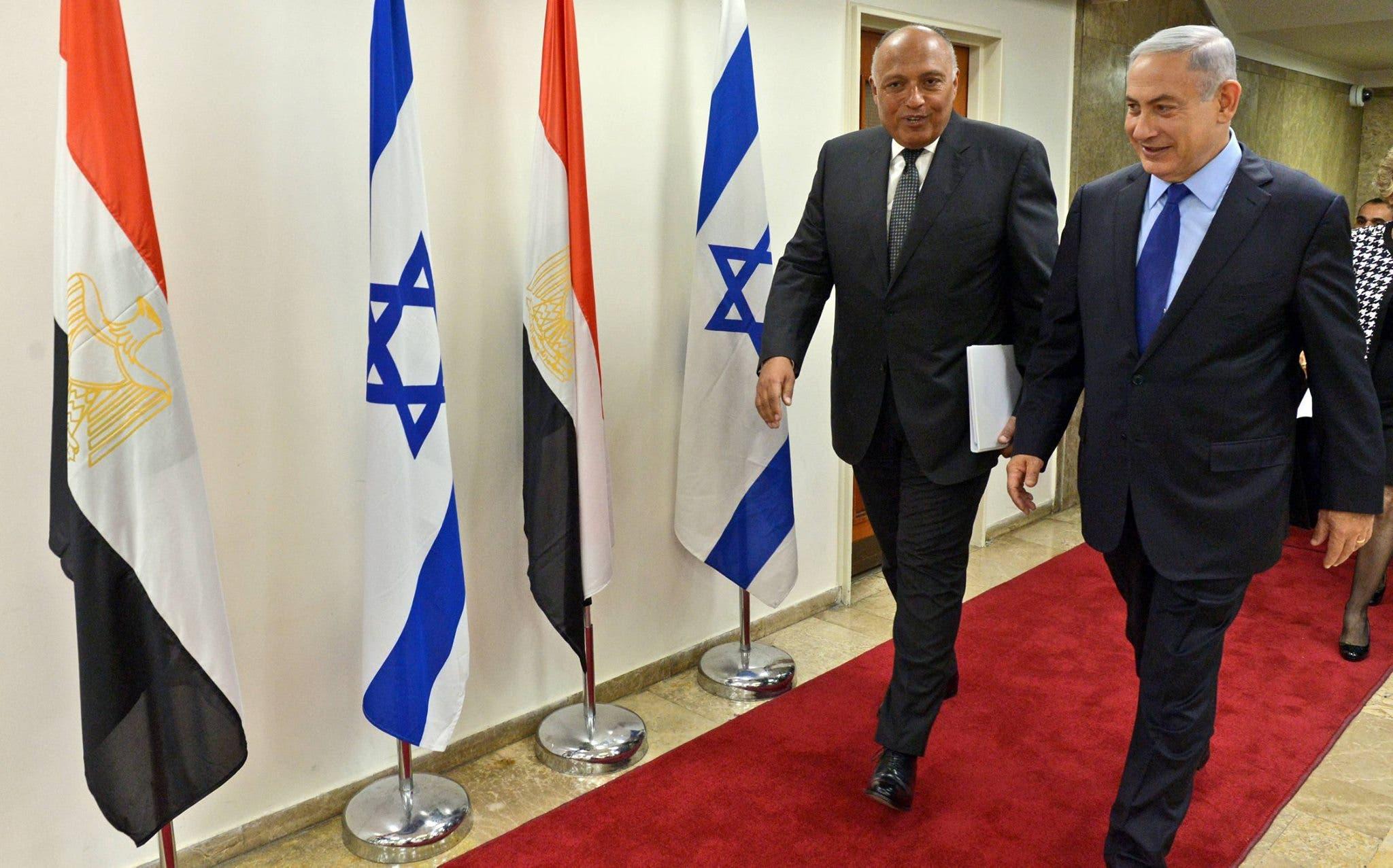 أول زيارة لوزير خارجية مصري إلى إسرائيل منذ 2007