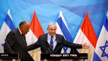 Egypt FM calls for 2-state solution on Israel visit