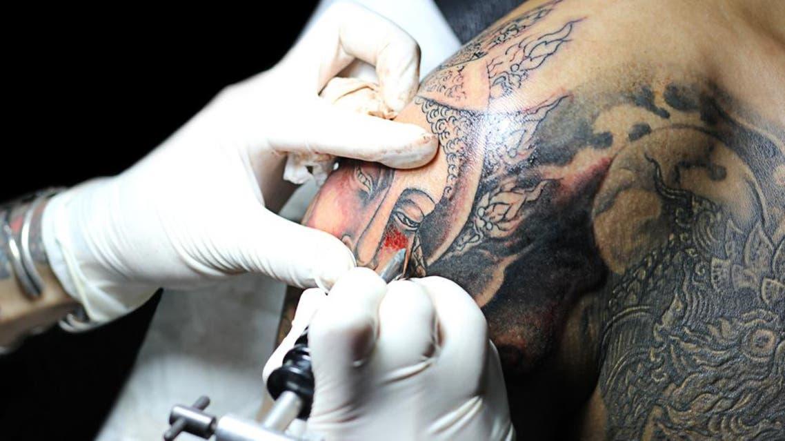 tattoo buddah shutterstock