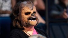'Chewbacca Mom' responds to violence with Michael Jackson song