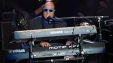 Stevie Wonder urges people to choose 'love over hate'