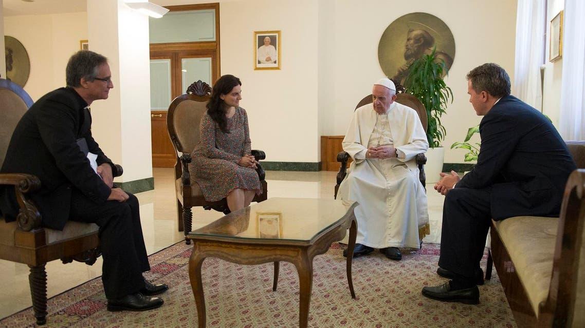 Vatican taps ex-Fox reporter, woman in new spokesman team