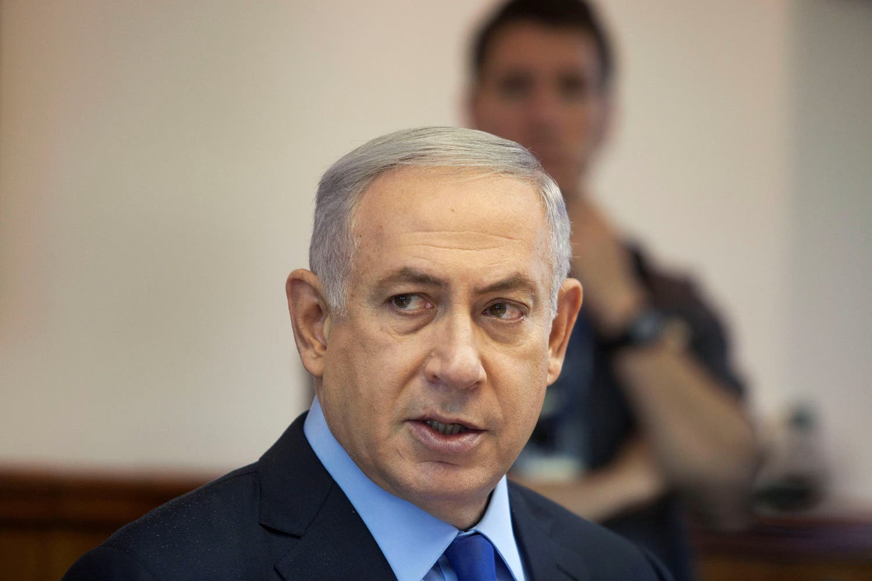 Israeli Prime Minister Benjamin Netanyahu attends the weekly cabinet meeting in Jerusalem July 10, 2016. (Reuters)