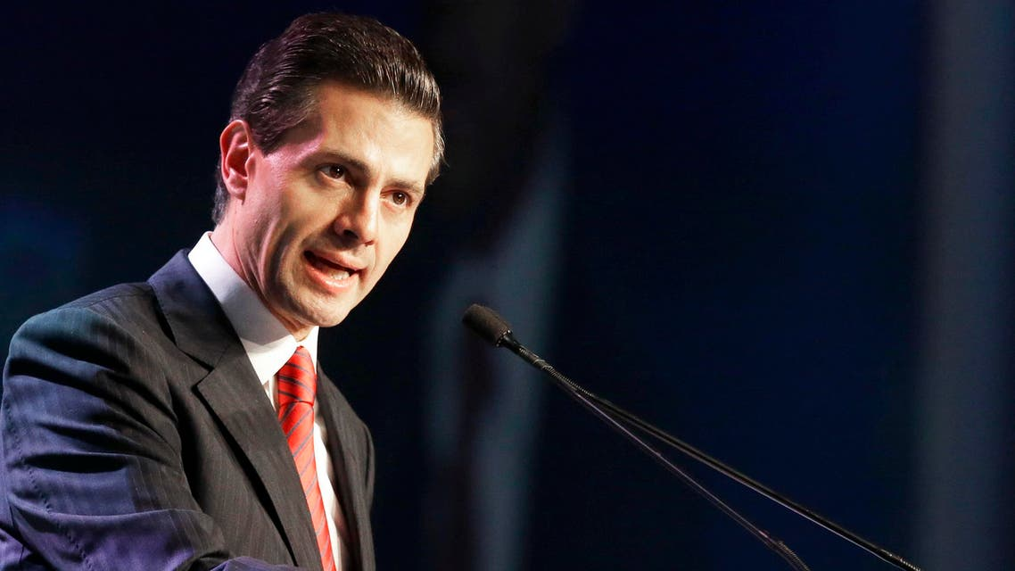 Mexican president Pena Nieto has said Trump's campaign pledge was a non-starter. (AP)