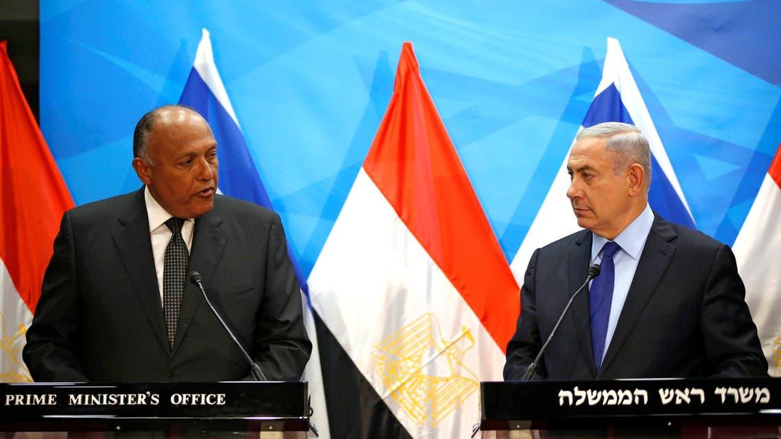 زيارة سامح شكري إلى إسرائيل