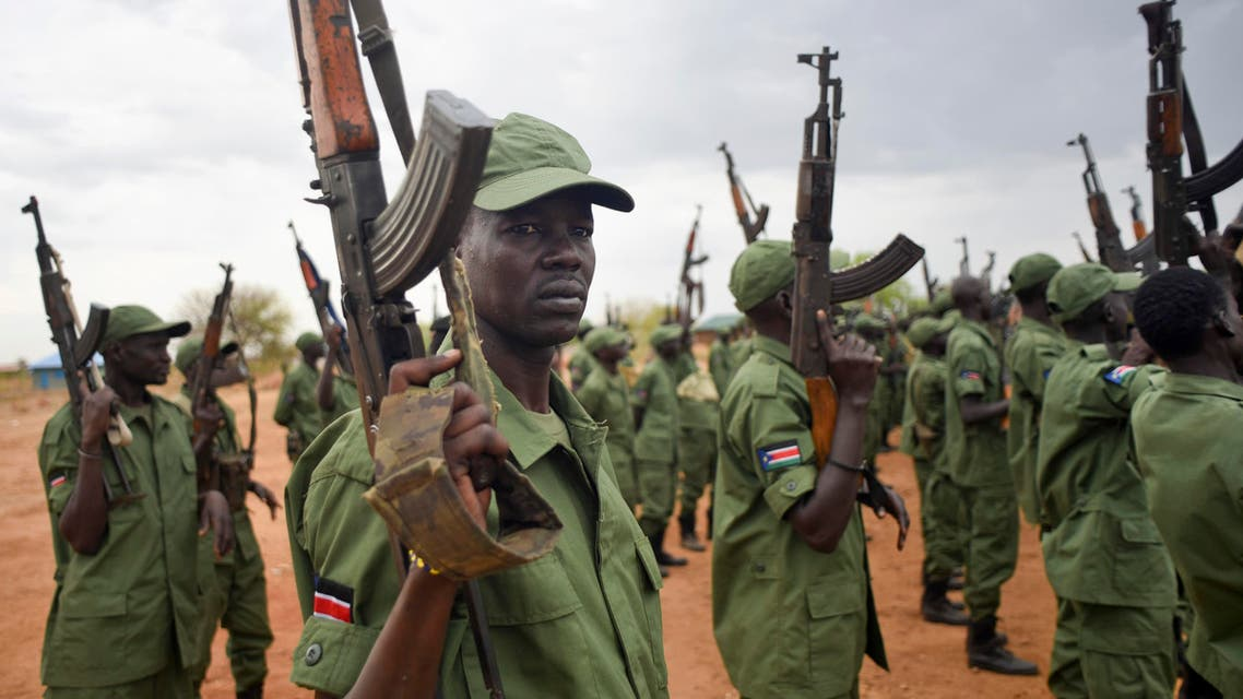 The battles are the first between the army and ex-rebels in Juba since rebel leader Machar returned to take up the post of vice president in a unity government. (AP)