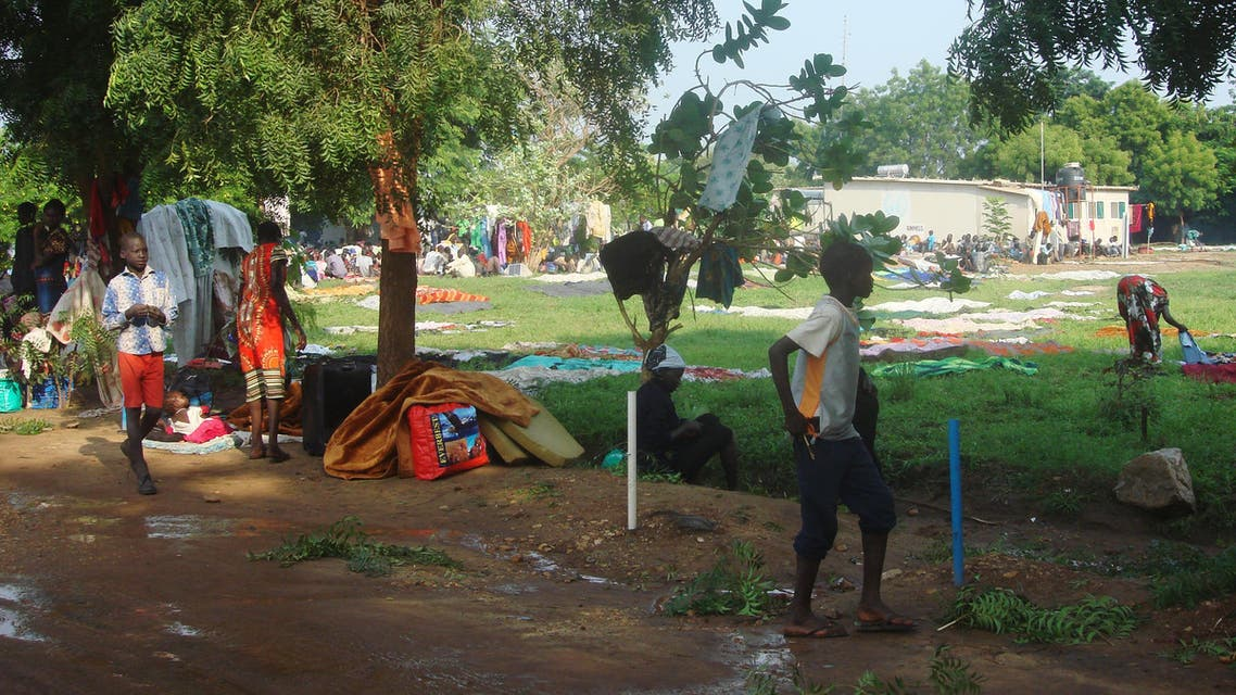جنوب السودان مشردون