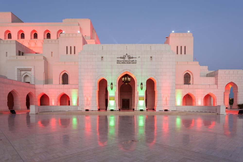 At the moment, Oman boasts the only Opera house in the region, the Royal Opera House Muscat. (Shutterstock)