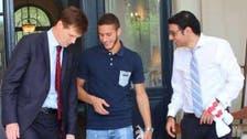 السفير البريطاني يستقبل صبحي قبل الانتقال إلى ستوك