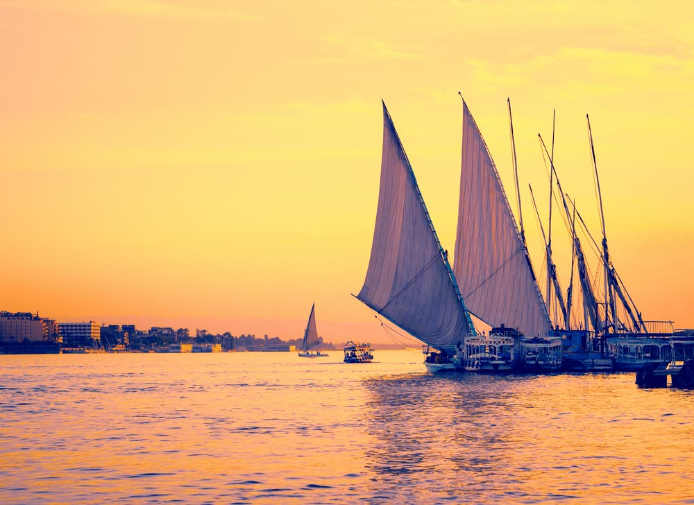 A guided Nile cruise can last from three to six days. (Shutterstock)