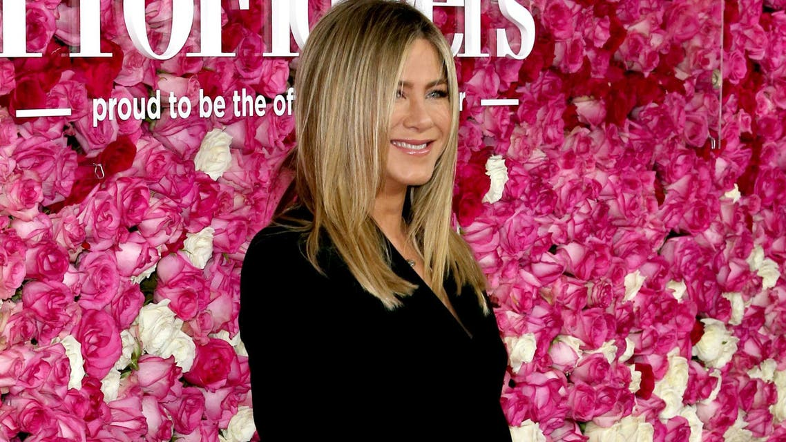 """Aniston says constant paparazzi coverage contributes to a """"dehumanizing view of females."""" (File photo: AFP)"""