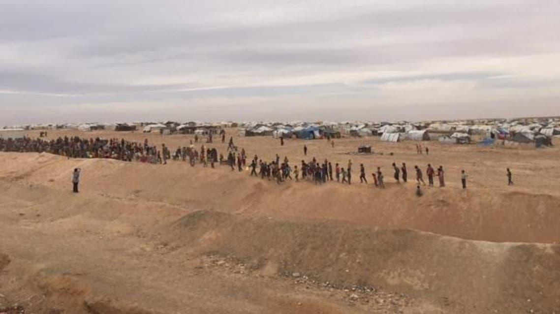 مخيم الركبان الحدودي