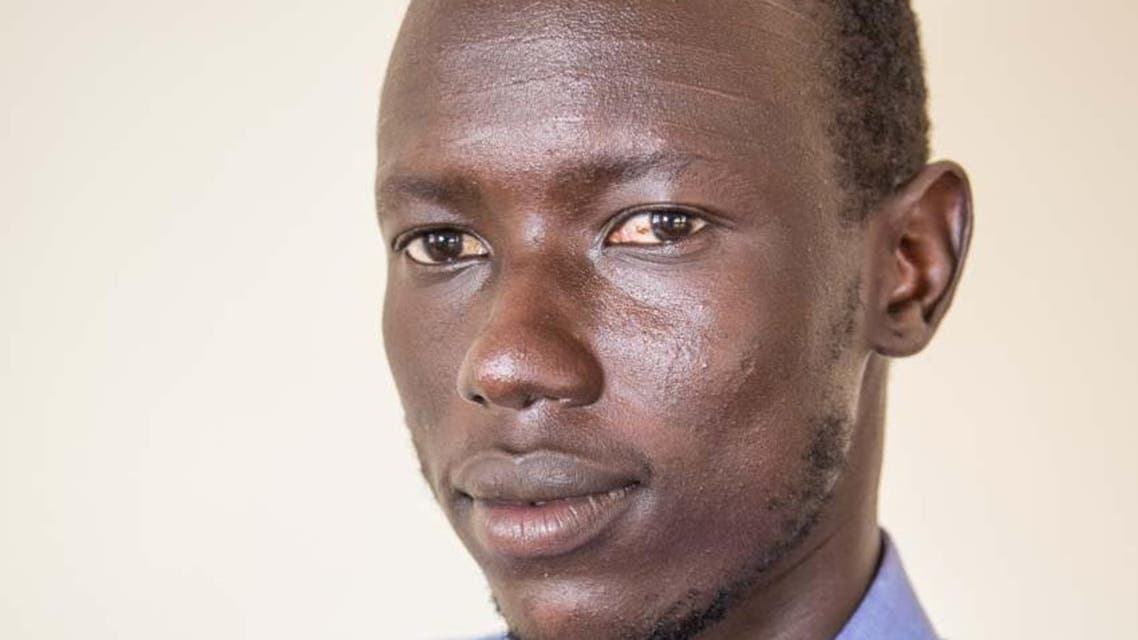 A photo of Gatluak posted on the Internews website shows that he had distinctive Nuer facial scars on his forehead, making his ethnicity easily identifiable. (AP)