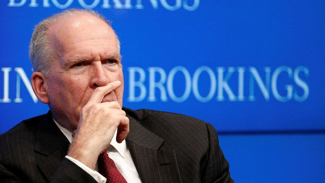 """CIA Director John Brennan attends a forum about """"CIA's Strategy in the Face of Emerging Challenges"""" at The Brookings Institution in Washington US. (Reuters)"""