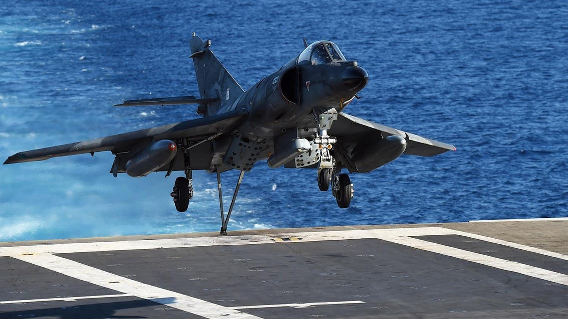 France says it will redeploy the Charles de Gaulle aircraft carrier this fall to step up the fight against ISIS. (AFP)
