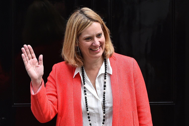 Amber Rudd. (AFP)