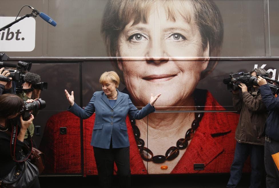 German Chancellor Angela Merkel. (Reuters)