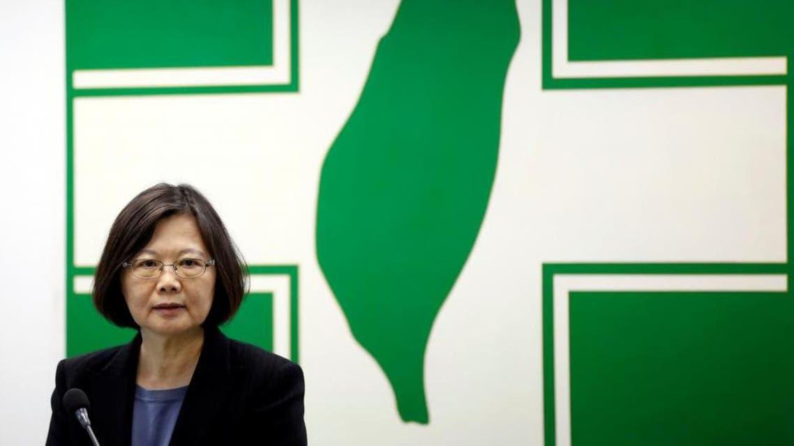 Taiwan President Tsai Ing-wen. (Reuters)