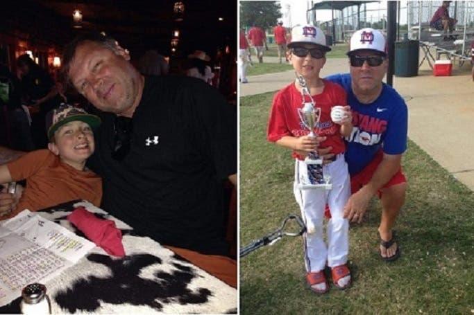 الأميركي سين وابنه برودي البالغ عمره 11 سنة، كانا بين الضحايا الأجانب
