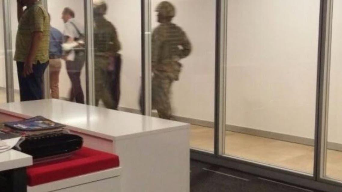 الجيش التركي داخل قناة تي آر تي الرسمية