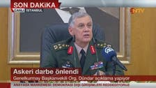 Turkish chief of staff: 104 coup plotters killed in failed rebellion