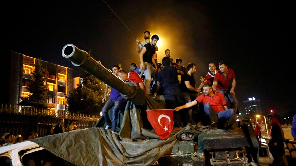 محاولة انقلاب تركيا