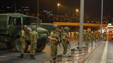"""اعتقال """"انقلابيين"""" بمطار في اسطنبول"""