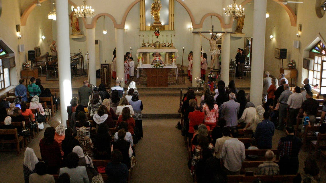 Amer Saka, a clergyman of the Chaldean Catholic Church – based in Baghdad – had allegedly collected the funds to support refugees. (AP)