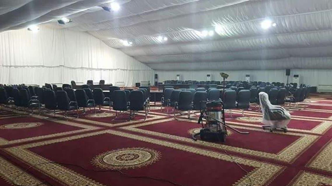 خيمة القمة العربية
