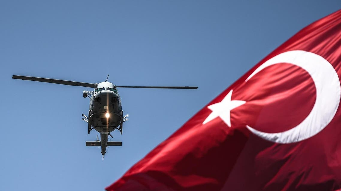 The eight soldiers fled to Greece in a helicopter after a failed military coup against the Turkish government and were arrested after landing in the northern Greek city of Alexandroupolis. (AFP)