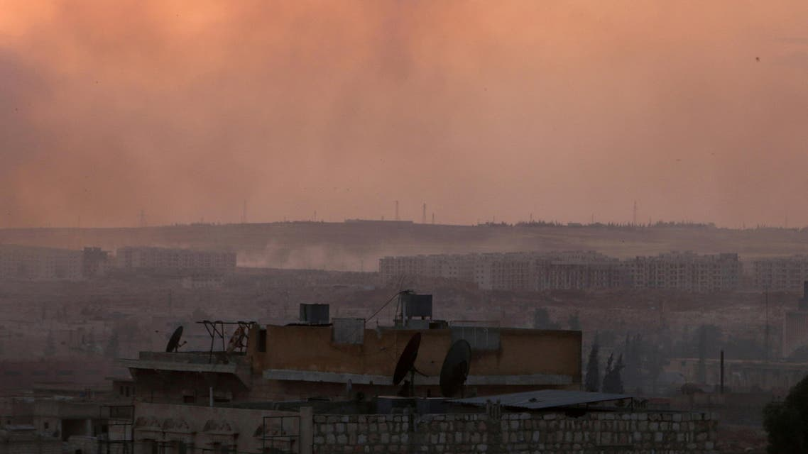 Smoke rises after airstrikes on Aleppo's Castello road, Syria June 2, 2016. (File Photo: Reuters)