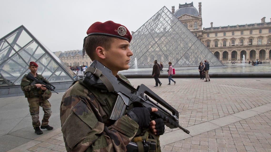 France's 'operational reservists' include French citizens with or without military experience as well as former soldiers. (AP)