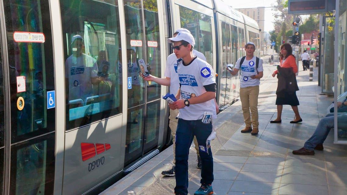 القطار الخفيف القدس getty images