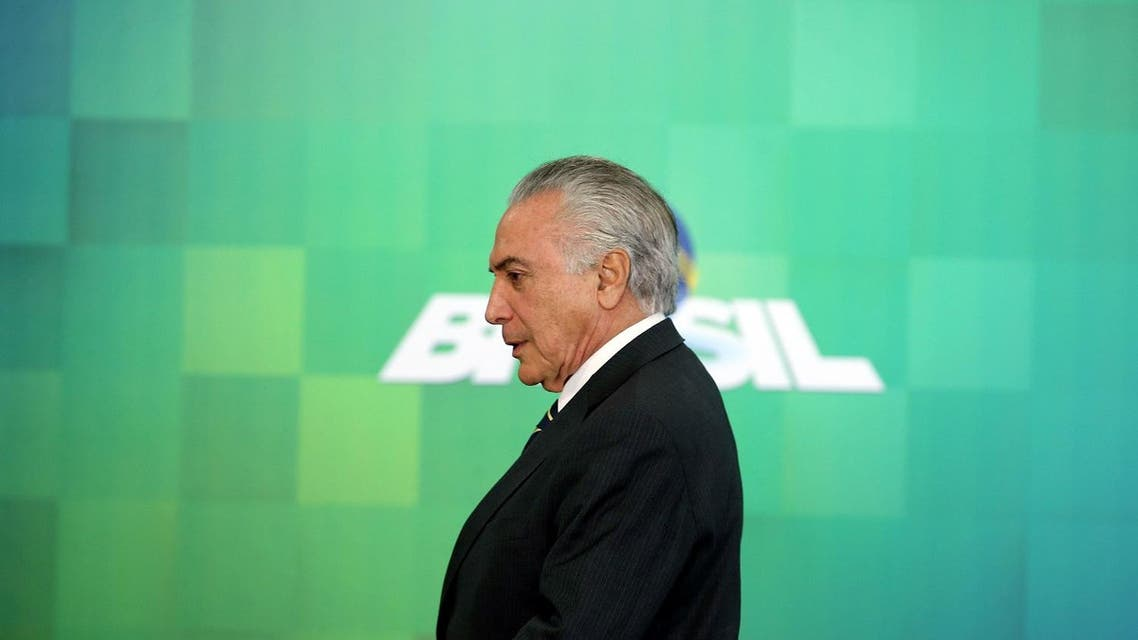 Despite half of Brazilians wanting Temer to continue in the country's top job instead of having Rousseff return, the interim president's approval rating is only 31 percent. (Reuters)