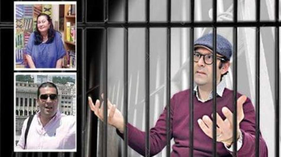 المتهمين الثلاث في قناة الخبر الجزائر