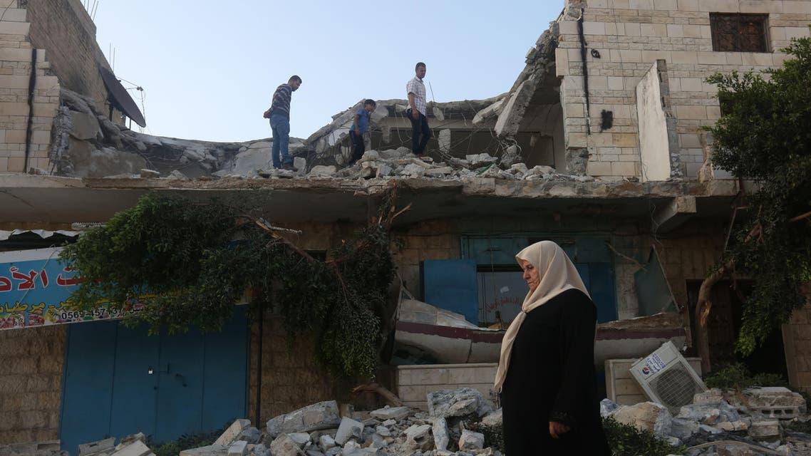 إسرائيل تهدم منزل فلسطيني في جنين في الضفة الغربية فرانس برس