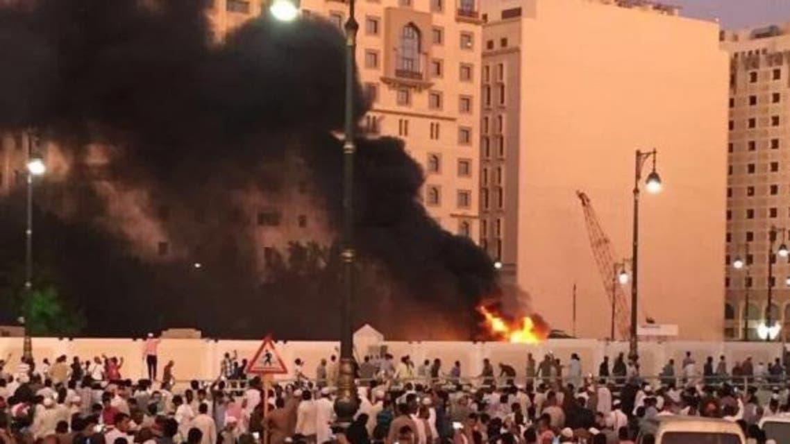 تفجيرات الحرم النبوي - أرشيفية