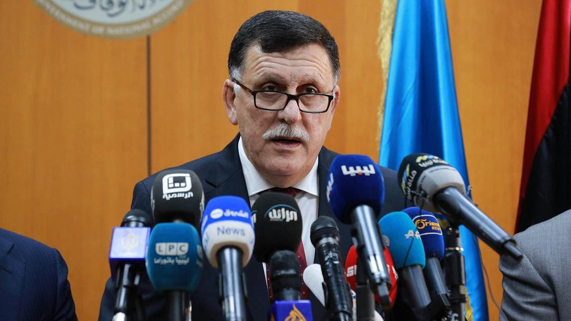 sarraj AFP libya