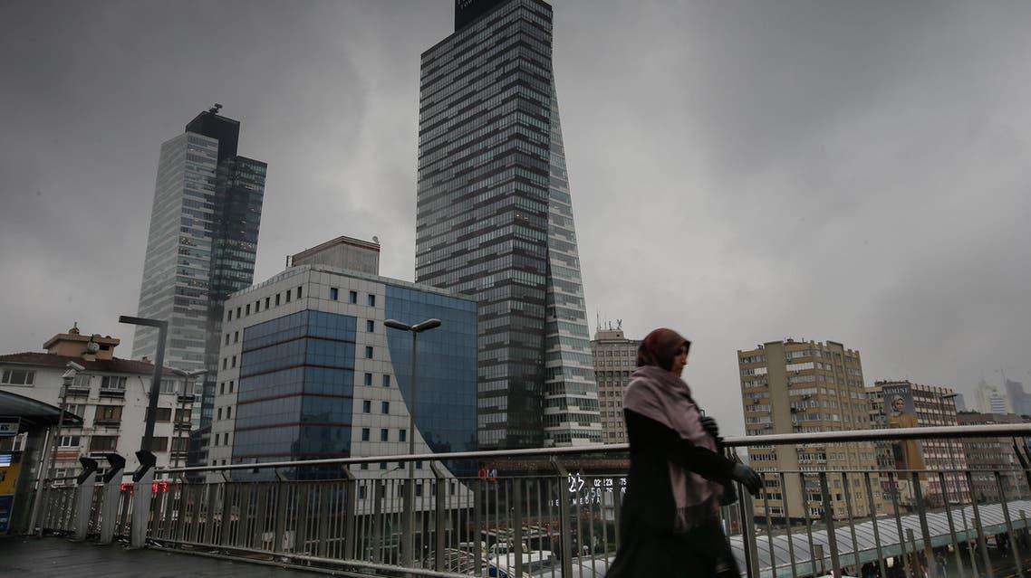 A 2015 file photo show's Istanbul's Sisli district. (AP)