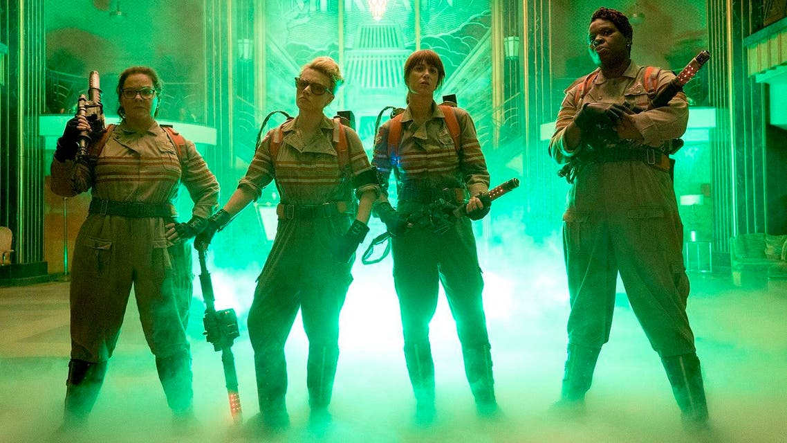 The new picture, which brings together Melissa McCarthy, Kristen Wiig, Kate McKinnon and Leslie Jones, is clearly designed to trigger a fresh array of sequels. (Photo courtesy: Sony)